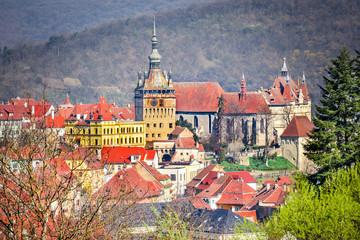 Fotomurales - Sighisoara - Transylvania, Romania