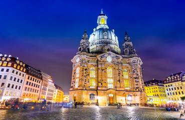 Wall Mural - Dresden, Germany - Frauenkirche