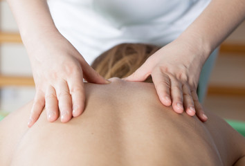 rehabilitation - spine massage