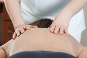 rehabilitation - spine massage