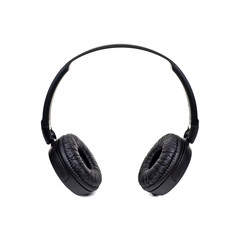 headphones are isolated on a white background