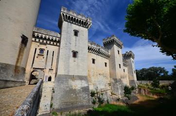 Medieval castle in France