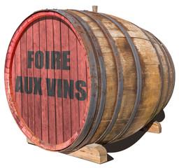 tonneau foire aux vins