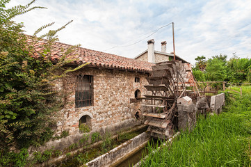 Old water mill.