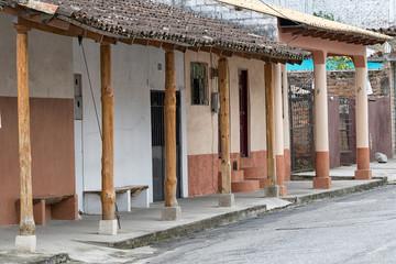 colonial style architecture in Ecuador