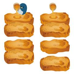 フレンチトーストとペンギン