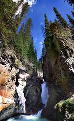 Canyon Waterfall  Canada