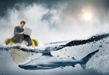 Concept business et risque stratégique