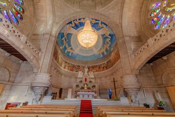 Vista do interior da Igreja Santa Luzia em Viana do Castelo Portugal