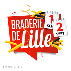 Photos illustrations et vid os de grande braderie - Braderie de lille date 2017 ...