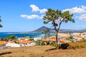 Forte de Insua em Caminha, boca do rio Minho Portugal