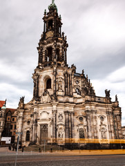 Dresden - Cathedral, Germany