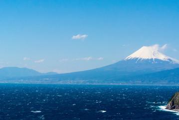 Mt. Fuji view from Izu peninsula