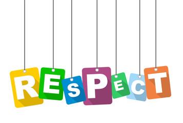 vector illustration background respect