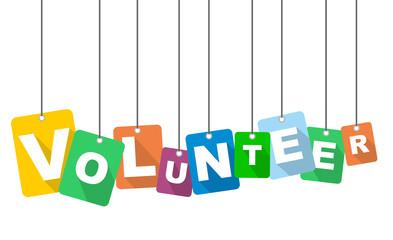 vector illustration background volunteer