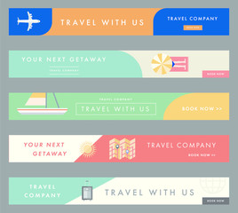 Travel company coupon with text message