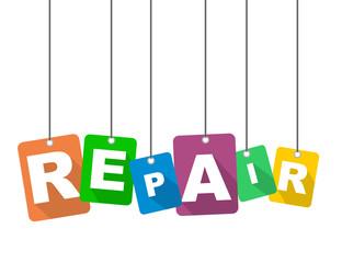 vector illustration background repair