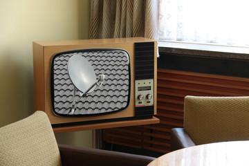 Fernsehen mit Satellitenempfang