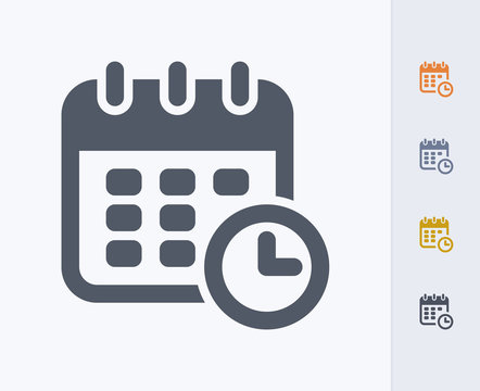 Deadline - Carbon Icons A professional, pixel-perfect icon  designed on a 32x32 pixel grid and redesigned on a 16x16 pixel grid for very small sizes.