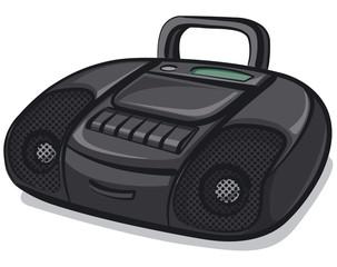 tape recorder boombox