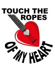 cuore chitarra