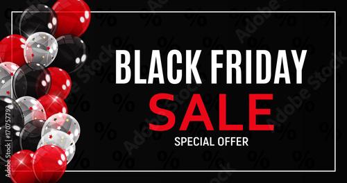 black friday sale banner template vector illustration stockfotos und lizenzfreie vektoren auf. Black Bedroom Furniture Sets. Home Design Ideas