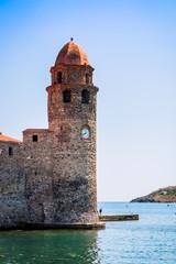 L'église Notre-Dame-des-Anges à Collioure la perle de la côte vermeille