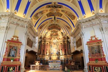 Choeur. Eglise Saint-Nicolas de Véroce. / Choir. Church of Saint-Nicolas de Véroce.