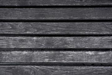 horizontal wooden gray black slats