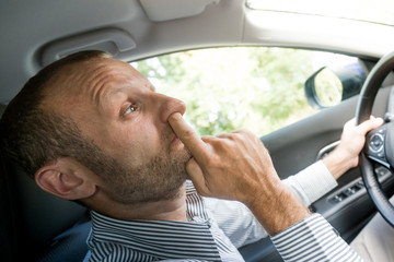 Nose picking while driving, funny transportation concepts