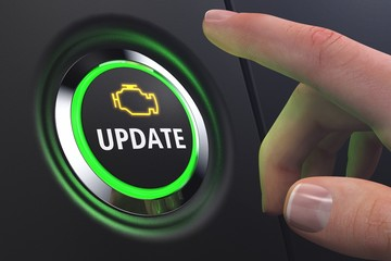 Button Software-Update Motorsteuerung
