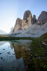 Panorama of the Tre Cime di Lavaredo