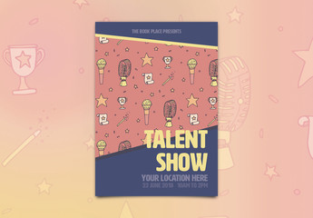 Talent Show Event Poster 1