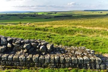 Hadrians Wall - Grundmauern