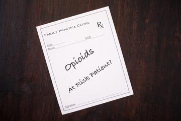 Opioid Prescription - At Risk Patient