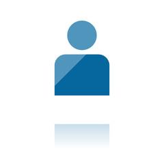 farbiges Symbol - Anwender-Symbol