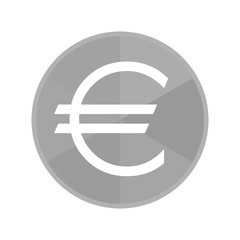 Kreis Icon - Eurozeichen