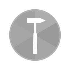 Kreis Icon - Hammer