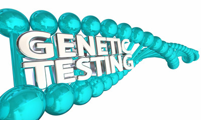 Genetic Testing DNA Research Health Disease Heredity 3d Illustration