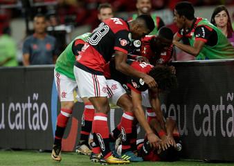 Soccer Football - Copa do Brasil - Brazil Cup Finals First Leg - Flamengo v Cruzeiro