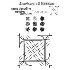 Secret of words, runes astrology personal amulet