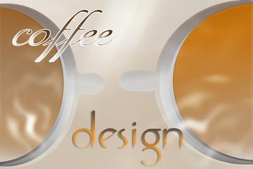 cup coffee smoke