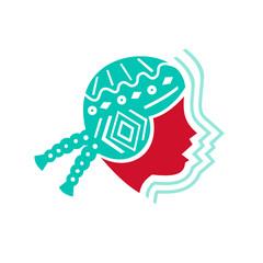 Peruvian Girl Hat Side Icon