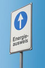Schild 173 - Energieausweis