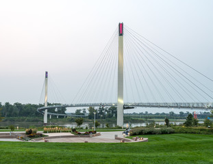 Bob Kerry Pedestrian Bridge in Omaha