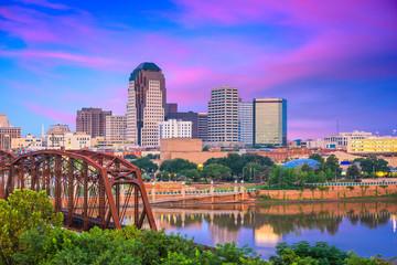 Fototapete - Shreveport, Louisiana, USA