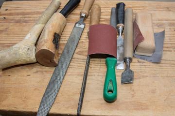 Strumenti Per Lavorare Il Legno : Attrezzi per lavorare il legno buy this stock photo and explore
