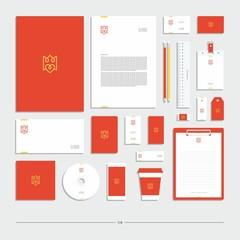 Corporate identity, stationery set, sign, symbol, icon.