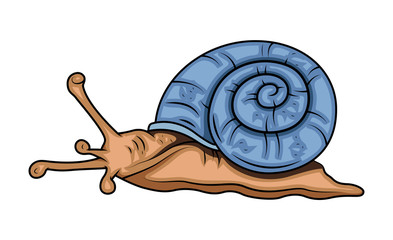 Cartoon Snail Vector