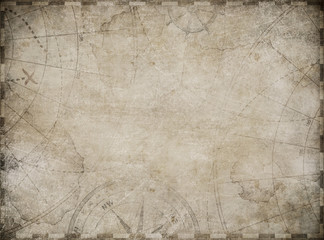 treasure map toned background illustration